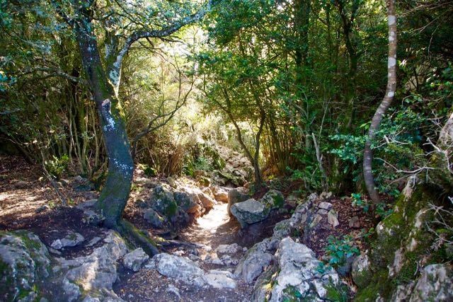 Peyrepertuse Path.