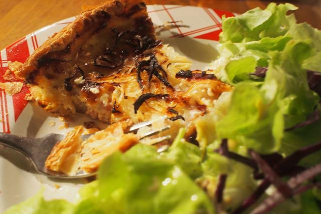 Mirepoix Cafe Llobet Onion Tart.