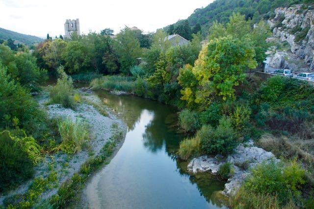Riverside reflections.